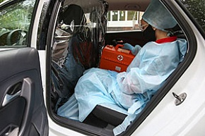 From December 21, doctors facing the pandemic will be given free taxi rides